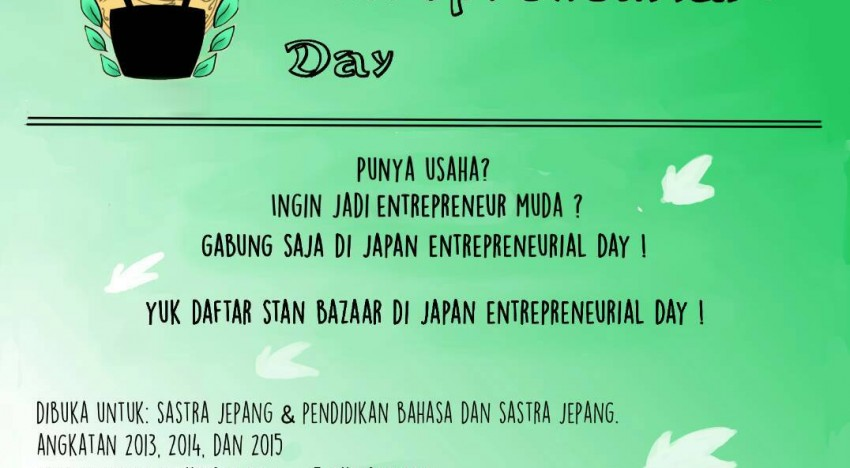 Japan Entrepreneurial Day (JED) 2016