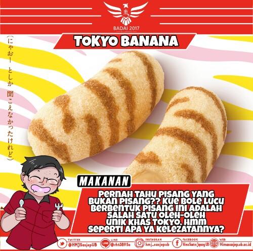Tokyo Banana, Oleh-Oleh Khas Jepang yang Lezat dan Populer